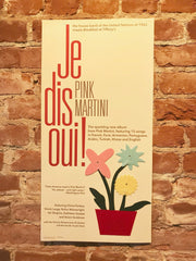 NEW! Je dis oui! album poster
