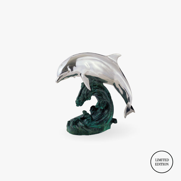D'Argenta-Silver-Green-Copper-Dolphin