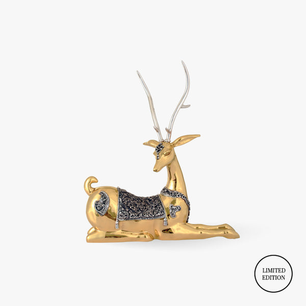 D'Argenta-Silver-Gold-Animals-Thai-Deer