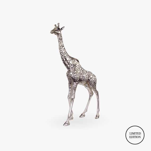 D'Argenta-Silver-Animals-Giraffe-Father
