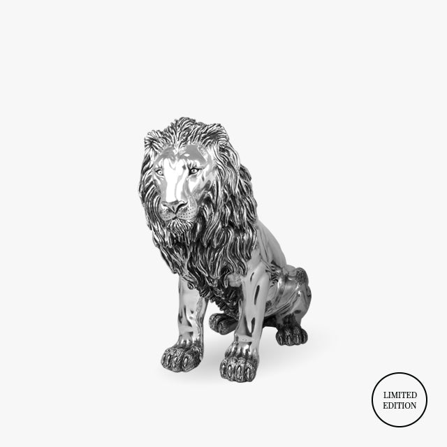 D'Argenta-Silver-Animals-Lion