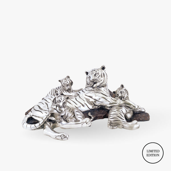 D'Argenta-Tigers-Family-Animals-Silver