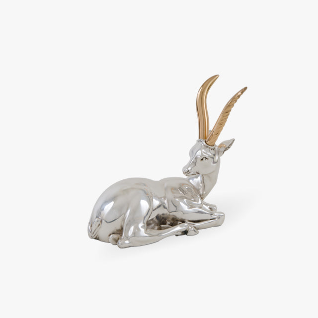 D'Argenta-Silver-Gold-Animals-Deer