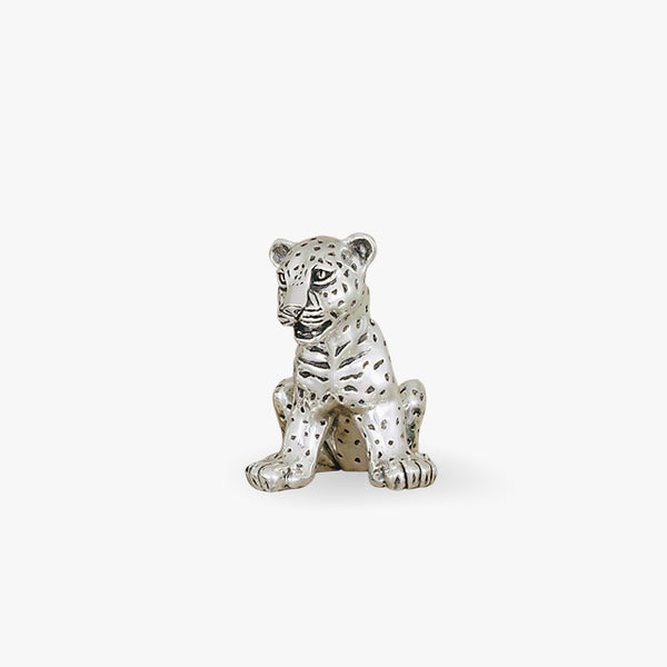 D'Argent-Silver-Cooper-Animals-Baby-Leopard