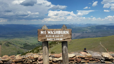 Mt. Washburn, Yellowstone National Park