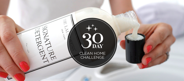 The Laundress 30-Day Clean Challenge