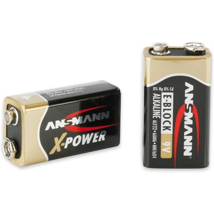 Ansmann 9V X-Power Battery-Ansmann-The Tech Closet by DAVIS