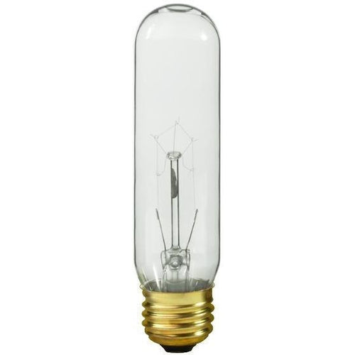 T10 Lamp - Clear - 25w-Satco-The Tech Closet by DAVIS