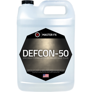 DEFCON-50 - Oil Based Haze Fluid-Master FX-The Tech Closet by DAVIS