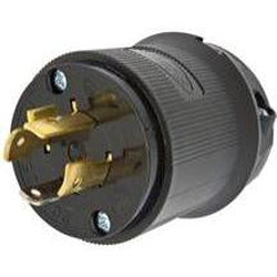 L6-20 Twistlock Connector - Male-The Tech Closet by DAVIS-The Tech Closet by DAVIS