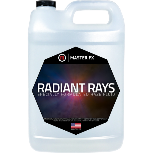 Radiant Rays - Water based Haze fluid for Radiance and MVS Hazers-Master FX-The Tech Closet by DAVIS