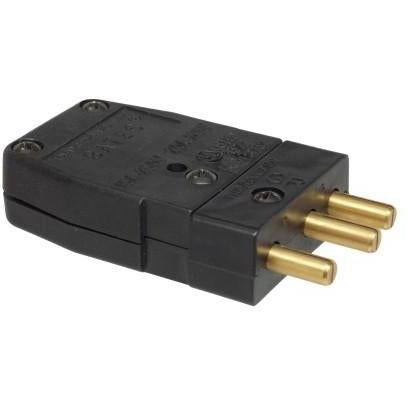 Stagepin Connector - Male - 20A-Advanced Devices-The Tech Closet by DAVIS
