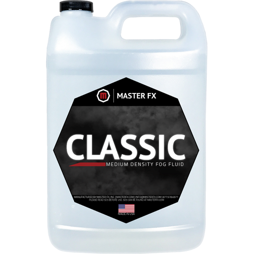Classic - Medium Density Fog Fluid-Master FX-The Tech Closet by DAVIS