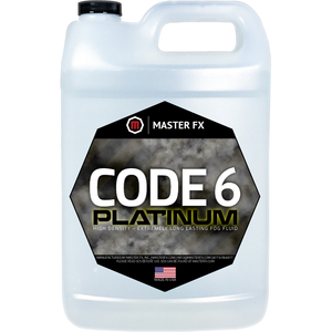 Code 6 Platinum - High Density/Extremely Long Lasting Fog Fluid-Master FX-The Tech Closet by DAVIS