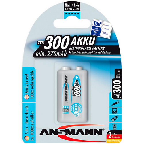 Ansmann MaxE Pro 9v-Ansmann-The Tech Closet by DAVIS