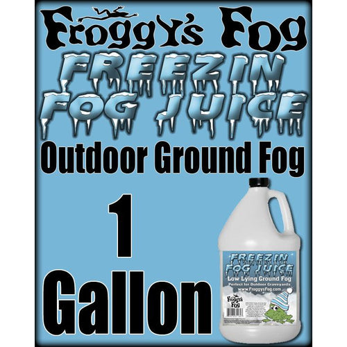Freezin Fog Outdoor Low Lying Ground Fog-FROGGYS FOG-The Tech Closet by DAVIS