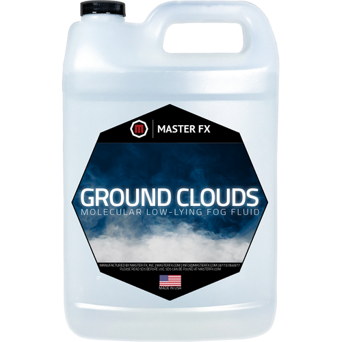 Ground Clouds - Low Lying Fog Fluid-Master FX-The Tech Closet by DAVIS