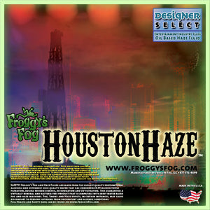 Houston Haze - Oil Based Haze Fluid - 1 Gallon-FROGGYS FOG-The Tech Closet by DAVIS