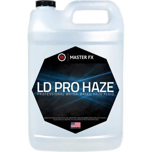LD Pro Haze - Long lasting waterbased Haze Fluid-Master FX-The Tech Closet by DAVIS