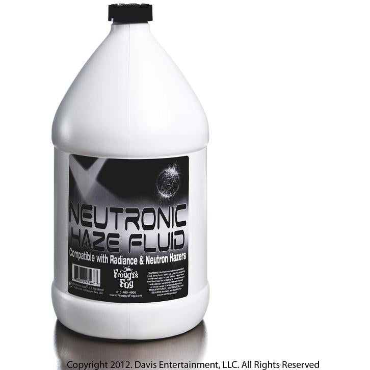 Froggys Neutronic Haze Fluid - 1 Gallon-FROGGYS FOG-The Tech Closet by DAVIS