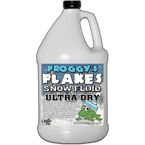 Snow Fluid - Ultra Dry-Froggy's Fog-The Tech Closet by DAVIS