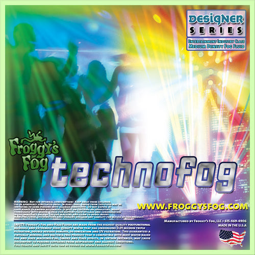 TechnoFog - Designer Select DJ and Club Mix Fog Machine Fluid - 1 Gallon-FROGGYS FOG-The Tech Closet by DAVIS