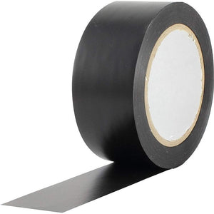Vinyl Dance Floor Tape, Black - 2 in x 36 yds-The Tech Closet by DAVIS-The Tech Closet by DAVIS