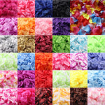 1000pcs Multicolor Silk Rose Artificial Sponge Petal Wedding Party Flower Favors  Handmade DIY Petals Birthday dress Party Decor