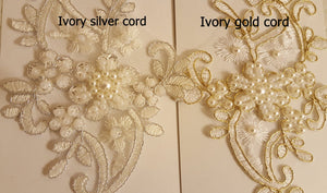 Ivory gold or ivory silver frame wedding gloves bridal gloves lace gloves fingerless gloves ivory gloves  bridal accessories party prom