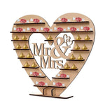 Wedding Chocolate Heart Candy Stand