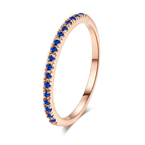 Valentines Gift Graceful Beautiful 21 Colors Bride Hot Sale Party Bridesmaid Zircon 1PC 2018 New Arrival Crystal Ring Wedding