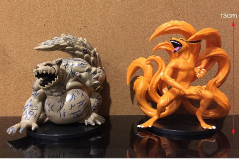 Naruto 2pcs/set Shukaku & Kurama Collectibles