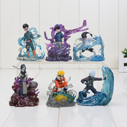 6Pcs/set Naruto Action figure Toy