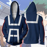 My Hero Academia sweatshirt hoodies cosplay costume