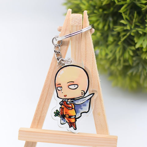 One Punch Man double sided Keychain