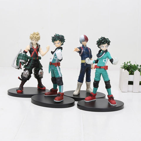 My Hero Academia DXF Figure Midoriya Izuku Bakugou Katsuki Collection Model Figurals Toy Gift 15cm