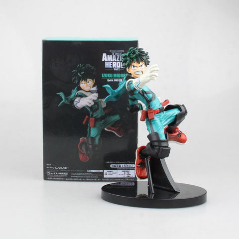 NEW hot 17cm My Hero Academia Midoriya Izuku Combat move Action figure