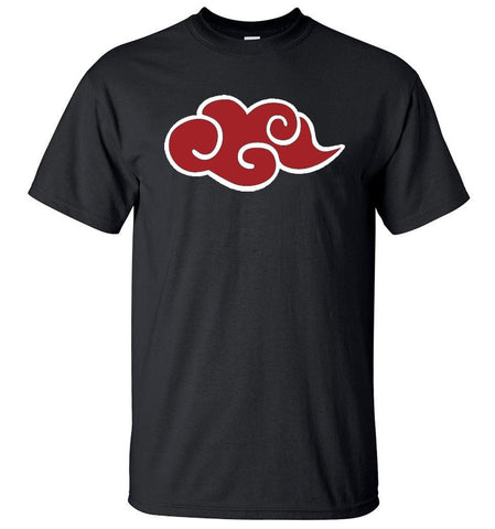 Naruto Akatsuki Red Cloud T Shirt
