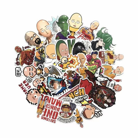 50 Pcs/lot ONE PUNCH-MAN Stickers