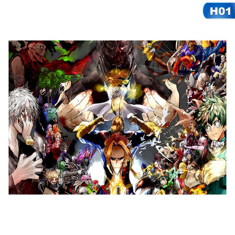 2019  My Hero Academia Poster Home Art Decoration