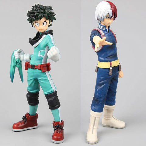 My Hero Academia Character Midoriya Izuku Todoroki Shoto Figure Collection Model