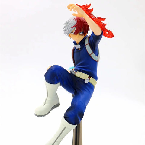 My Hero Academia Todoroki Shouto Three Generations Ver PVC Action Figure Collectible Model