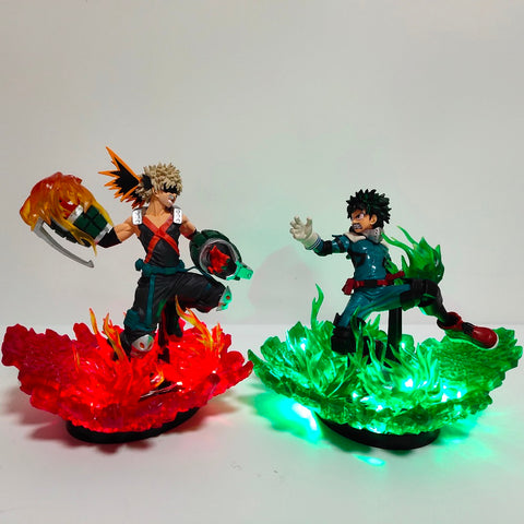 My Hero Academia Led Lighting Bakugou Katsuki VS Midoriya Izuku Led Night Light