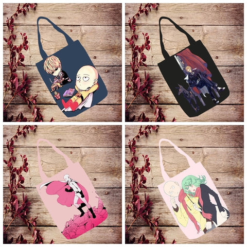 One Punch Man Tote Handbag