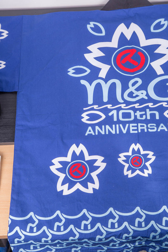 2016 M&G 10th Anniversary Yukata Circle-T Happi shirt