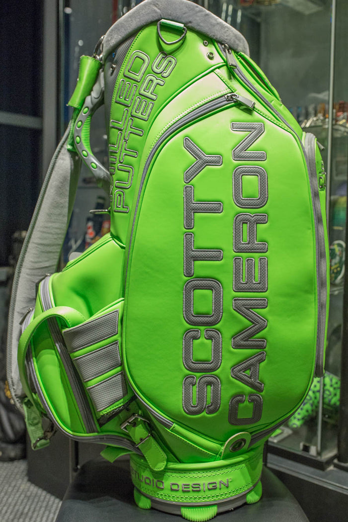 2013 Masters Circle-T Lime Staff Bag