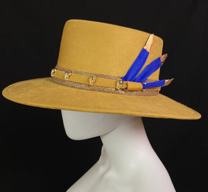 3 Plumas Custom Boater Hat