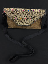 Load image into Gallery viewer, Diamante Chiapas Embroidered Leather Clutch Colores Decor