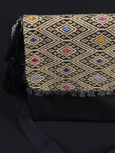 Load image into Gallery viewer, Diamante Chiapas Embroidered Leather Handbag Colores Decor