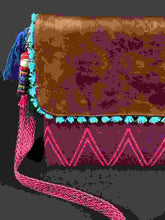 Load image into Gallery viewer, Kaan Maya Embroidered Leather Handbag